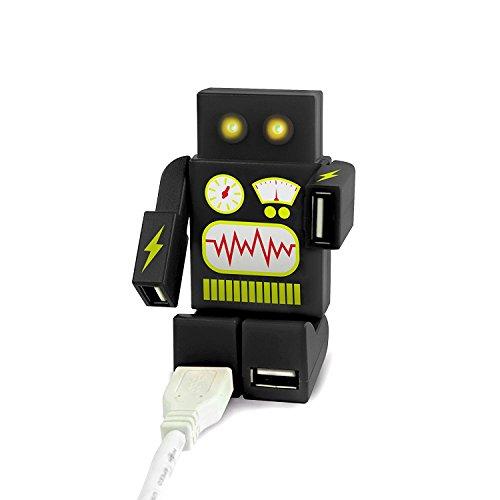 Mustard Robohub Robot - Hub USB (4 Puertos) Negro Negro