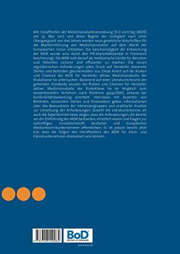 Die neue Verordnung (EU) für Medizinprodukte 2017/745: Chancen und Risiken für Hersteller unter besonderer Berücksichtigung des Konformitätsbewertungsverfahrens - 2