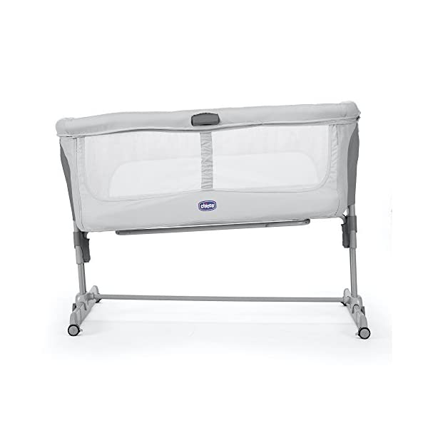 Chicco NEXT2ME Dream Crib - Graphite  The chicco next2me dream is the 3 in 1 solution and can be used as side-sleeping crib, as a stand-alone crib or as travel crib. Allows baby to sleep in your room for the first six months. 1-hand opening mechanism to easily change from side-sleeping to stand-alone configuration 3