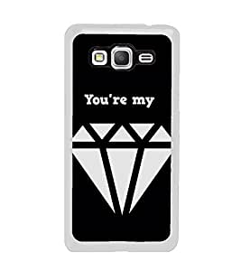 PrintVisa You Are My Style High Glossy Metal Designer Back Case Cover for Samsung Galaxy On5 Pro