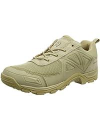 FREE SOLDIER Tactical Desierto Zapatos Rápido Antideslizante Camping Senderismo Montaña Todo Terreno Off-Road Zapatos (Sand Color, 44)