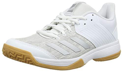 adidas Ligra 6, Scarpe da Pallavolo Donna,Bianco (Ftwwht/Silvmt/Gretwo),48 2/3 EU