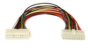 InLine 26643 Interne 0.2m ATX (20-pin) Multicolore câble électrique - cables électriques (Mâle/Femelle, Multicolore, 0,2 m, ATX (20-pin))