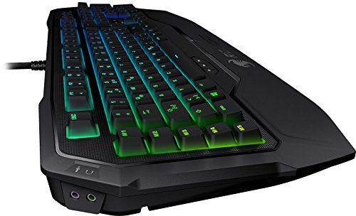 Roccat Ryos MK FX RGB Mechanische Gaming Tastatur (DE-Layout, Per-key, RGB Multicolor Tastenbeleuchtung, MX Key Switch RGB braun) - 3