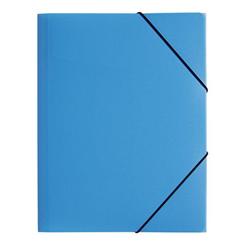 Pagna lucy - cartella portadocumenti con elastico, formato a3, colore: blu/verde/arancione/rosa