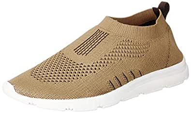 Bourge Men's Vega-7 Beige Running Shoes-6 UK (40 EU) (7 US) (Vega-7-06)