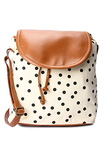 Kleio Women's Sling Bag (Ivory Cream, Bnb315Ly-Cr)