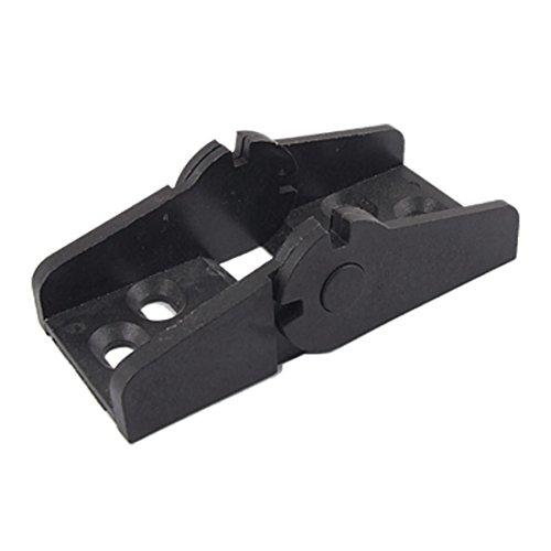 En plastique noir Towline porte-Connecteur de câble de frein - 18 mm x 25 mm