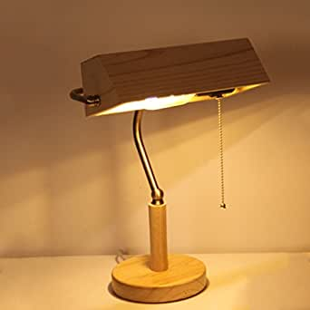 Legely Solid Wood Table Lamp New Chinese Living Room