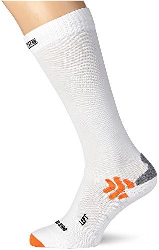 X-Bionic 76930 - Calzini da ciclismo Energizer, da uomo, Bianco (bianco), Size 45-47
