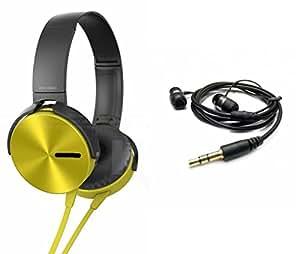 MIRZA Extra Extra Bass XB450 Headphones & Earphones for OPPO NEO 5.(XB 450 Headphones,With MIC,Extra Bass,Headset,Sports Headset,Wired Headset & Earphones,Headset)