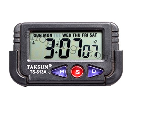 selcouth ALARM CLOCK DIGITAL LCD TABLE DESK CAR Calendar TIMER STOPWATCH  available at amazon for Rs.210