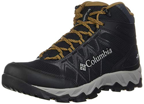 Columbia Peakfreak X2 Mid Outdry, Botas de Senderismo para Hombre, Negro Black, Elk 010, 43 EU