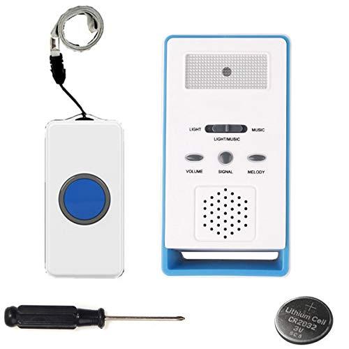 LEAGY Wireless Remote Nurse Alert System - Patient Ruftaste und Caregiver Pager - 500 + Ft Reichweite Alert-system