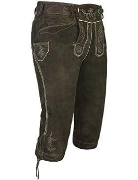 Spieth & Wensky Lederhose Vittorio 66 cm, mit Latz und Stegträger