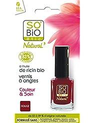 SO'BiO étic Couleur & Soin Vernis à Ongles 01 Séduisant Rouge 10 ml