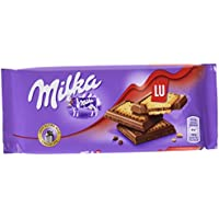 Milka Tableta de Chocolate con Galleta Lu - 87 g