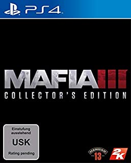 Mafia III - Collector's Edition - [PlayStation 4] (B01ENPR2KS) | Amazon price tracker / tracking, Amazon price history charts, Amazon price watches, Amazon price drop alerts