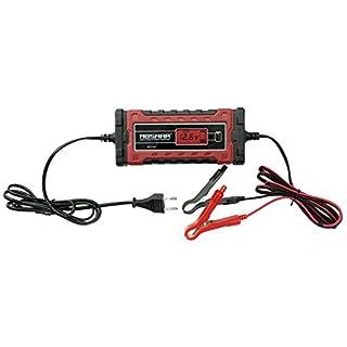 Absaar 158002 Batterieladegerät Evo 6.0 12/24V, Rot/Schwarz, 6A