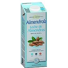 Almendrola Bebida Vegetal de Almendras con Azúcar - Paquete de 6 x 1000 ml - Total: 6000 ml