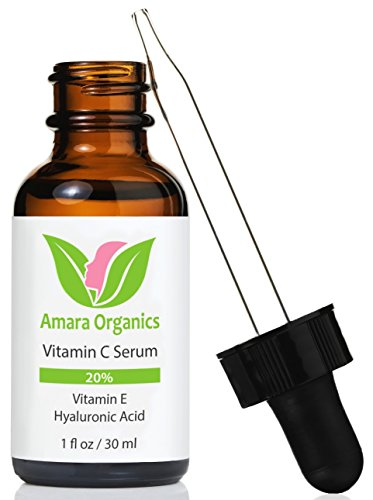 Vitamin C Serum for Face 20% - With Hyaluronic Acid & Vitamin E - 30 ml