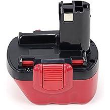 POWERGIANT batería de perforación batería 12 V 3000 mAh NiMH ersatzen batería para Bosch BAT043 BAT045 22612 Exact 700 GSR 12 - 1 PSR 12 VE-2, PSB 12 VE-2 etc