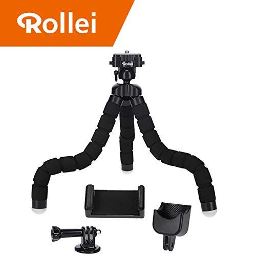 Rollei Monkey Pod Set - Mini Stativ mit flexiblen Beinen inkl. Kugelkopf, Smartphone -, DJ