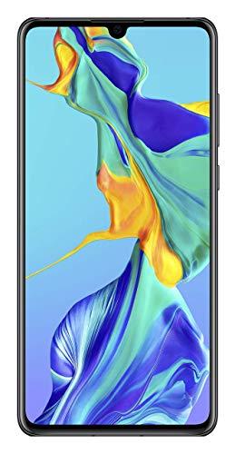 Huawei P30 Smartphone débloqué 4G (6,1 pouces - 6/128Go - Double Nano SIM - Android 9.1) Noir [Version...