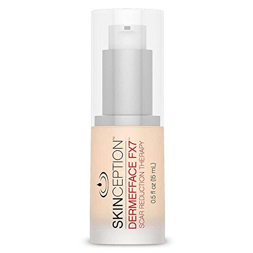 Skinception Dermefface FX7 Narbensalbe zur Pflege von Narben | Narbenbehandlung | Narben entfernenr Erfolg ohne Schönheitschirurgie | Effektive Narbenentfernung