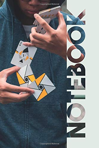 Notebook: Cardistry Professional Composition Notebook for Experts in Card Manipulations por Molly Elodie Rose