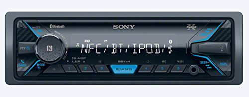 Sony DSX-A400BT Single-DIN receiver (Black)