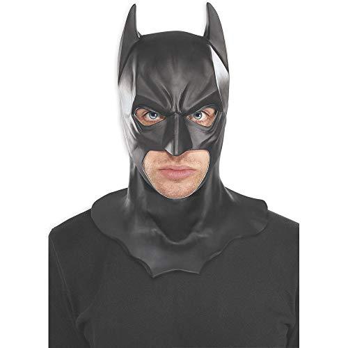 Batman Kostüm Der Wahre - SEJNGF Erwachsene Batman Masken Halloween Vollgesichts Latex Kostüm Party Masken Karneval Cosplay Requisiten Kopfumfang Weniger Als 58 cm