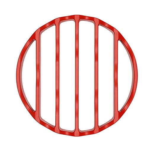 OXO Grapas - Olla a presión, Silicona, Color Rojo, 5,08 x 10,16 x 33,02 cm