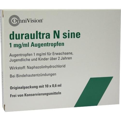 Duraultra N sine Augentro 10X0.6 ml