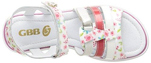 GBB Izzie, Sandales fille Multicolore (39 Vvn Imp Fleur/Blanc/Lola)