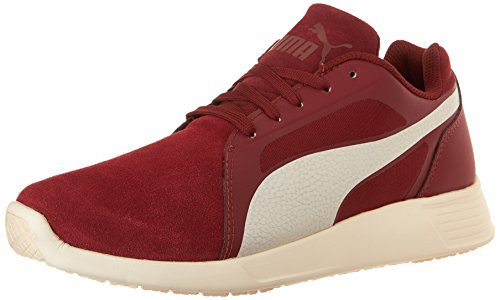 Puma Unisex-Erwachsene St Trainer Evo Sd Low-Top, Black-Black cabernet-whisper white