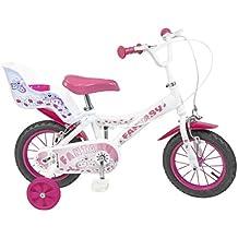 """Toimsa - 501 - Vélo pour Enfant - Fantasy - Fille - 12"""" - 3 à 5 ans"""