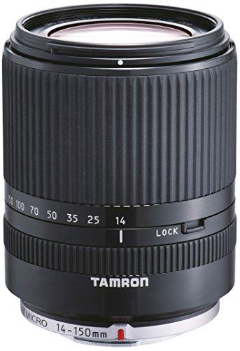 Tamron 14-150 mm F/3.5-5.8 Di III Objektiv für Micro Four Thirds schwarz -