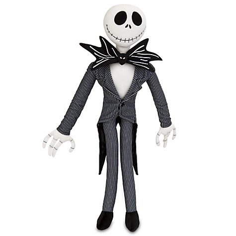 Offizielle Disney Nightmare Before Christmas 66cm Jack Skellington weichem Plüsch Puppe