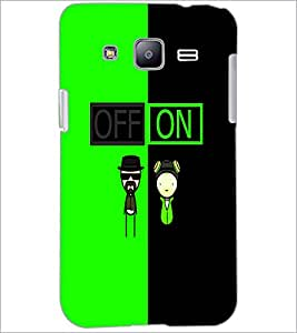 PrintDhaba Funny Image D-4017 Back Case Cover for SAMSUNG GALAXY J2 (Multi-Coloured)