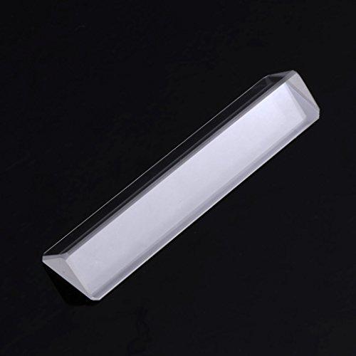 ZOOMY K9 Optisches Glas, rechtwinklig reflektierendes dreieckiges Prisma zum Lehren des Lichtspektrums