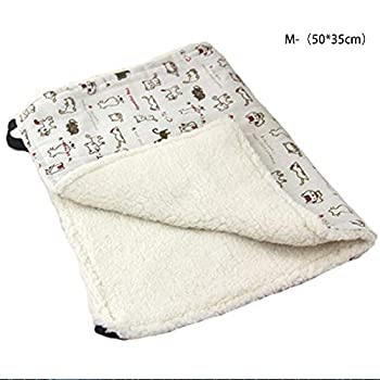 IEUUMLER Soft Tapis de lit pour Chat Suspendu Chat Doux Hamac Comfortable Sleeping Mat Matelas de Cage IE144 (M, Cat)