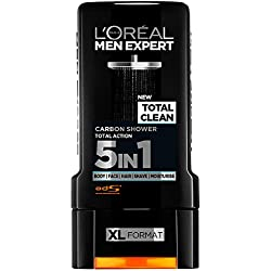 Loreal Men Expert Total Clean Carbon 5in1 Shower Gel (300ml)