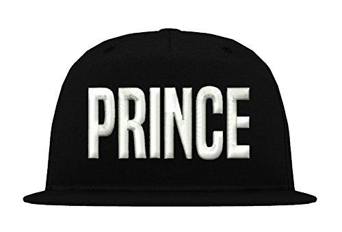 TRVPPY Kinder Junior 5 Panel Cap Modell Prince, Weiß-Schwarz, b10b - Tisa Hat