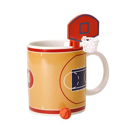 her mit Korb und Ball - Tasse Kaffeetasse ()