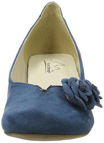 Andrea Conti 3004509, Scarpe Col Tacco Donna Denim (Jeans)