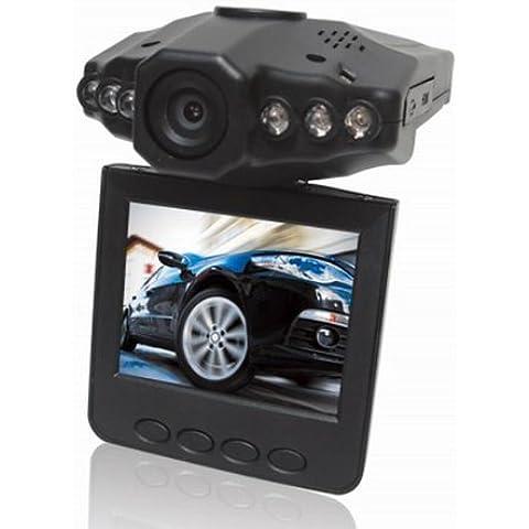 2,5 pulgadas TFT LCD HD 720p coche DVR Grabador de conducción con 120 grados de ángulo ancho / visión nocturna / Support 64GB SD / MMC portátil de la cámara del coche DVR