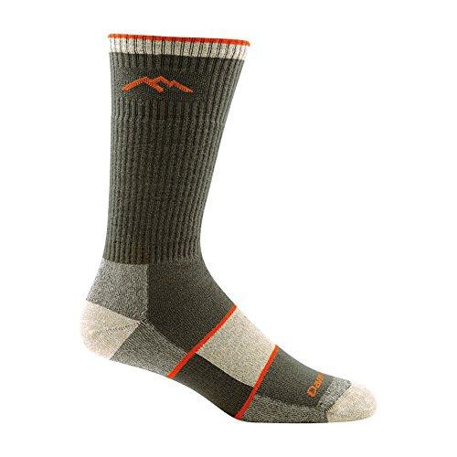 Preisvergleich Produktbild Darn Tough Merinowolle Coolmax Kofferraum Full Auflage Socken–Herren, Herren, olivgrün