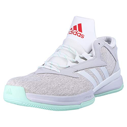 low priced ee676 403e8 adidas Street Jam II, Chaussures spécial Basket-Ball pour Homme Blanc 50 2