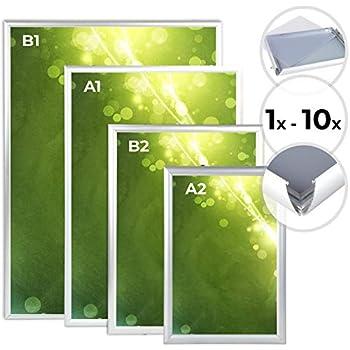 Melko Klapprahmen DIN A1 Alu Plakatrahmen Wechselrahmen